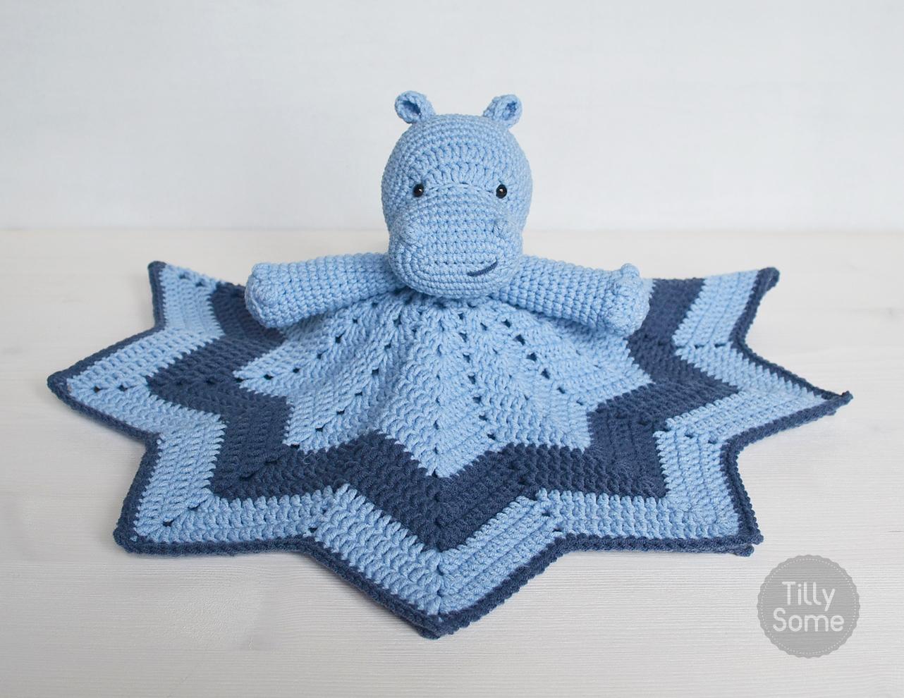 Free Amigurumi Hippo Pattern : Hippo lovey u crochet pattern u tillysome patterns