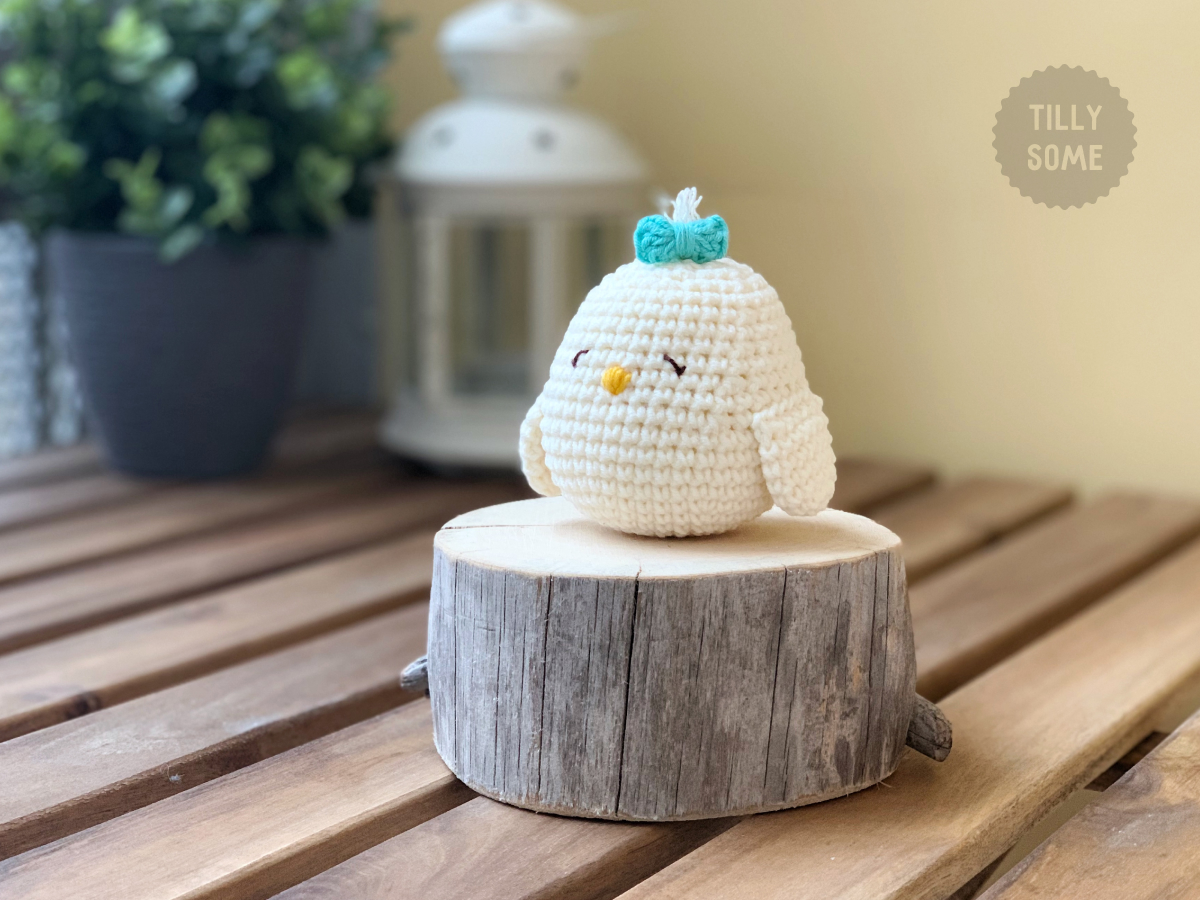 Amigurumi Chick by Tillysome